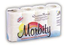 Asciugatutto 4 rotoli Morbity