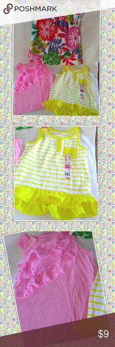 Toddler 3T summer TOPS Garanimals Carter's x3 Girls Toddler 3T  Summer TOPS Garanimals Carter's X3 Carter's Shirts & Tops