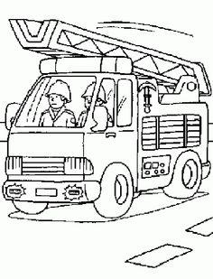 Feuerwehr Ausmalbilder Gratis Ausmalbilder Firefighter Coloring