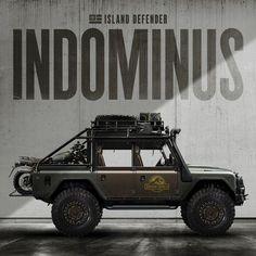 Mercenary+Garage+Custom+Motorcycle+Workshop+Island+Defender+Land+Rover+Indominus+Jurassic+Park+World+Triumph.jpg (1080×1080)