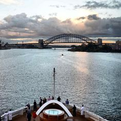 "follow @myeyesmycamera on Instagram   to see her gorgeous photos of her world traveled! ""Juvy T  Mum of VJ,wify of GA,Traveling the world, photography time w/her hubby. https://twitter.com/MyEyesMyCamera http://myeyesmycamera.com"" Morning pix sailing into Harbour  Sydney, Australia - what a perfect and intimate way to explore Sydney Harbour! #sydney #australia #harbour #photooftheday #sailing #seabournquest #worldcruise2013 #wwwdotcaptaindashgadotcom - @Juvy Thue-Nilsen"