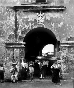 Entrance Gate into the Old Spanish Fort, Cavite, Philippines, Late or early Century by John T Pilot Philippines Culture, Manila Philippines, Philippines Travel, Philippines Fashion, Rwby, Fort Santiago, Filipino Fashion, Spanish Fort, Noli Me Tangere