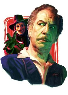 VINCENT PRICE AND THE PHANTOM.