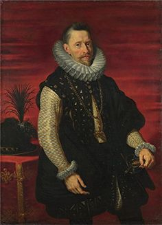 Oil Painting Studio Of Peter Paul Rubens Portrait Of The Archduke Albert  Printing On Polyster Canvas  16 X 22 Inch  41 X 57 Cm the Best Home Office Gallery Art And Home Gallery Art And Gifts Is This Replica Art DecorativePrints On Canvas