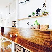 Kitchen,カフェ風,多肉植物,ディアウォール DIYに関連する他の写真