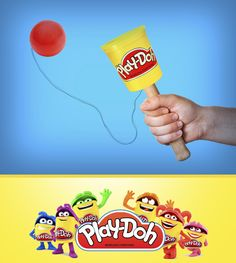 You can still have fun with an empty can, just turn it into a can and Play-Doh ball game!
