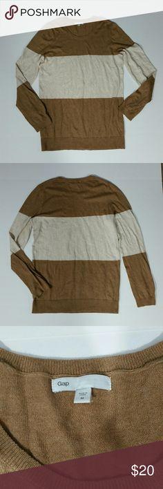 Selling this Gap Striped Colorblock Sweater on Poshmark! My username is: _mandylou_. #shopmycloset #poshmark #fashion #shopping #style #forsale #GAP #Sweaters