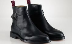 Ralph Lauren Mens Shoes Fall 2013. The Beatle boot look is a classic.