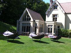 Fatboy hammocks at Maison Talbooth