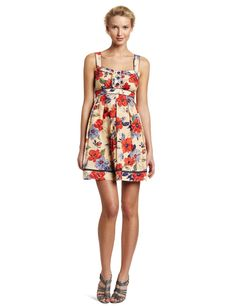Jessica Simpson Women's Ruffle Front Tank Dress http://click-this-info.tk/SimpsonWomen