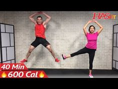 40 Min Tabata Cardio HIIT Workout No Equipment Full Body at Home Interval Training for Fat Loss HIT - YouTube