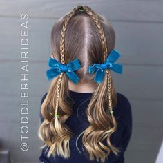 """1,087 Likes, 23 Comments - Cami  Toddler Hair Ideas (@toddlerhairideas) on Instagram: """"After yesterday's super intricate style, I wanted to do something extra simple today! So I started…"""""""