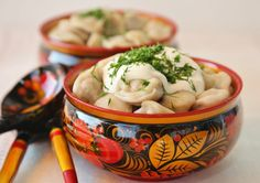 Russian dumplings, called pelmeni Photo by cook-n-eat.net #friendlylocalguides #moscowtours #moscowguide #russianfood