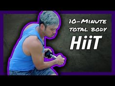 10-Min Total Body HIIT Dumbbell Workout | Mike Donavanik (MikeDFitness) - YouTube