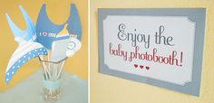 baby shower photo booth printables   Printable Photo Booth Props