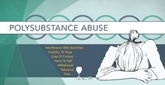 Having multiple #addictions to multiple substances is referred to as #Polysubstance abuse. Interactions between different types of #drugs and #alcohol can be life threatening, and exacerbate pre-existing conditions.