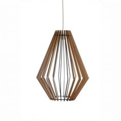 AssembLIT range of laser cut wooden light fittings : easy self assemble Electrical Stores, Bedside Lighting, White Stain, Light Fittings, Laser Cutting, Pendant Lighting, Light Bulb, Range, Ceiling Lights