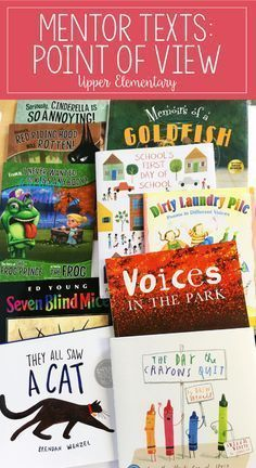If you are looking for point of view mentor texts or read alouds for teaching point of view, definitely check out this post. This article shares several engaging read alouds with brief summaries and suggestions for how to use them. The post also shares id