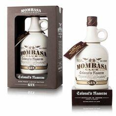 mombasa club coronel's reserve gin #packaging #2llotja