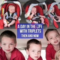 A Day in the Life With Triplets - Then and Now | New Orleans Moms Blog