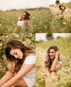 Senior Photography, Portrait Photography Poses, Photography Ideas, Field Senior Pictures, Outdoor Senior Pictures, Outdoor Photoshoot Ideas, Summer Senior Pictures, Outdoor Portraits, Senior Portraits Girl