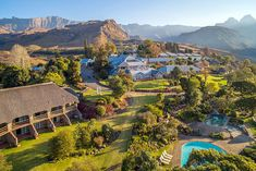 Click on pic to see more. Discover a paradise of fresh mountain air and exquisite surroundings. Cathedral Peak is renowned for its natural beauty, and the area boasts one of the most popular Drakensberg hotels. From its cosy setting in a quiet valley, visitors look out onto a jagged ridge of mountains known as the Cathedral Spur; the escarpment looms above the hotel to the south and west. Kwazulu Natal, Cosy, South Africa, Natural Beauty, Cathedral, Paradise, Hotels, River, Popular