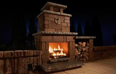 The Compact Fireplace