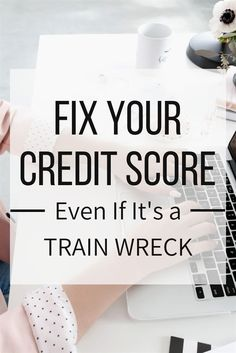 Your credit score is what banks and other establishments use to check whether they should approve your purchase, loan or job application. Naturally, this could mean the difference between an approval or a denial and why your credit re Fix Bad Credit, Chase Credit, How To Fix Credit, Build Credit, Check Your Credit Score, Improve Your Credit Score, Repairing Credit Score, Credit Check, Credit Repair Companies