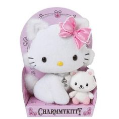 Charmmy Kitty and his Hamster Soft toy: Amazon.co.uk: Toys & Games