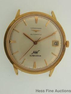 Heavy Genuine 18k Rose Gold Longines 17J Calibre 431 Automatic Wrist Watch #Longines #Dress