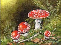 грибы в корзинке живопись: 10 тыс изображений найдено в Яндекс.Картинках