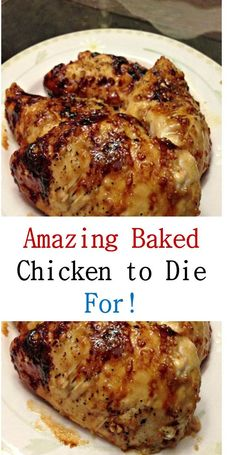 Amazing Baked Chicken to Die For!-Amazing Baked Chicken to Die For! Here's Amazing Baked Chicken to Die For! Recipes >> Baked Chicken with Garlic and Brown Sugar >> - Easy Baked Chicken, Baked Chicken Breast, Easy Chicken Recipes, Chicken Breasts, Good Baked Chicken Recipes, Chicken Breats Recipes, Seafood Recipes, Different Chicken Recipes, Baked Meat Recipes