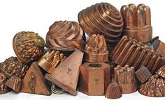 copper molds | English & French Copper Molds.