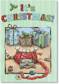 It's Christmas! Let the good times roll! by Gary Patterson