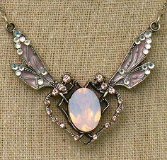 Dragonfly opal necklace from Anne Koplik Jewelry