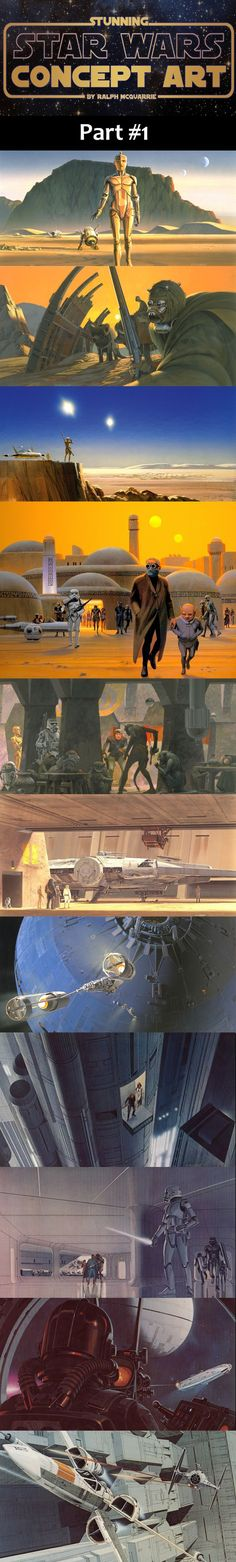 Concept Art for Star Wars #1