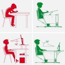 Adjustments in ergonomics Home Office Design, Home Office Decor, House Design, Kids Furniture, Furniture Design, School Furniture, Small Home Offices, Art Studio Design, Studio Room