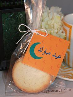 Set of 12 #Eid Mubarak #Favor Kit by SalaamCards on Etsy  #EidMubarak #EidGiftFavors #EidPartyFavors #Ramadan #EidAlFitr https://www.etsy.com/listing/225495525/set-of-12-eid-mubarak-favor-kit