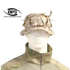 OPS / UR-TACTICAL, REVERSIBLE GHILLIE BOONIE HAT IN NWU II / AOR1