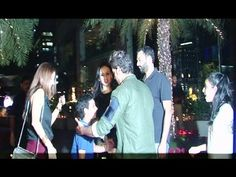 Hrithik Roshan spotted again with his Ex wife Sussanne Khan and sons.