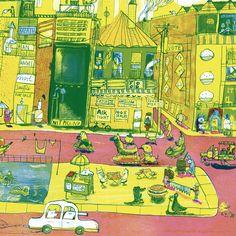 V&A awards picture book detail by Joseph Namara Hollis Picture Book Maker, House 2, Childrens Books, Illustrators, Joseph, City Photo, Awards, Author, Detail