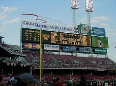 Great American Ball Park, Cincinnati, OH  - Home of The Reds