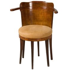 Very Rare Wiener Werkstätte Sycamore Chair | From a unique collection of antique and modern chairs at https://www.1stdibs.com/furniture/seating/chairs/