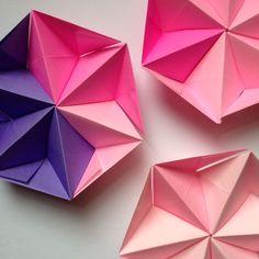 Coco Sato: Artist & Author Reinventing Origami in Uniquely Modern Ways Origami And Math, Origami And Quilling, Origami And Kirigami, Origami Tutorial, Origami Easy, Origami Wall Art, Origami Quilt, Geometric Origami, Modular Origami