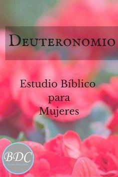Estudio de Deuteronomio para mujeres. Plan de lectura, diario de mujeres, devocional infantil y para chicas. Métodos de estudio. Todo GRATIS.
