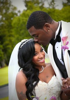 black bride hairstyles long and curly with veil - Google Search