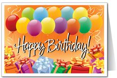 Birthday Greetings | ... Postcards, Visitor Cards, Pastor Note Cards, Ministry Birthday Cards