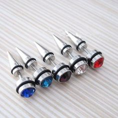men puncture earrings 316L titanium steel ear stud fashion ear accessories