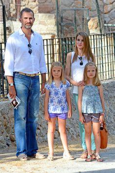 El rey y sus chicas, descanso en Palma de Mallorca