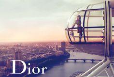 Model Marion Cotillard, photographer Mert & Marcus for Lady Dior handbags